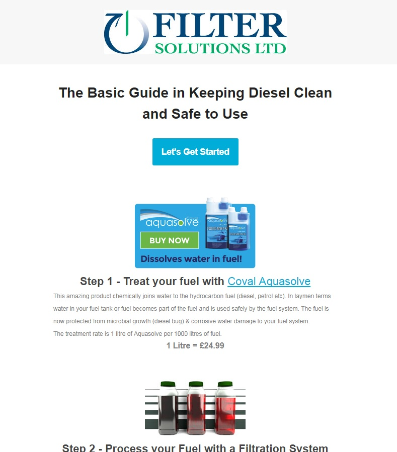 The Basic Guide in Keeping Diesel Clean and Safe to Use