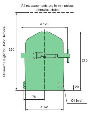FM090 dimensions