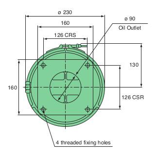 Mann FM200 Centrifuge Base Dimensions