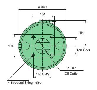 Centrifuge Base Dimensions