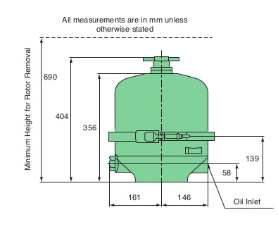 Mann FM400 Centrifuge Dimensions